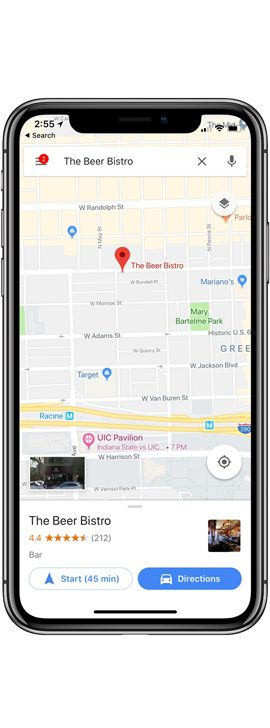 Google Map Update for iOS-1
